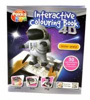 Interaktivní 4D omalovánky Pukka Fun - Vesmír - 10849