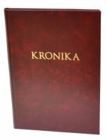 Kronika A4 100 listů - červená - Resko