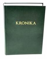 Kronika A4 300 listů - zelená - Resko