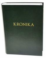Kronika A4 400 listů - zelená