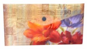 Plastový obal DL s drukem - Jardins De Paris - 1641-0277