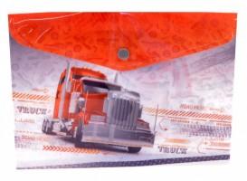 Plastový obal A5 s drukem - Truck - 1647-0278