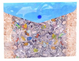 Plastový obal A5 s drukem - School Is Cool -1647-0274