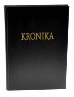 Kronika A4 100 listů - černá - Hospa