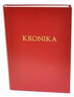 Kronika A4 200 listů - červená - Resko