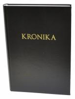 Kronika A4 200 listů - černá - Resko