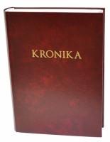 Kronika A4 300 listů - červená - Resko