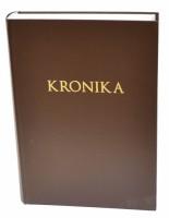 Kronika A4 300 listů - hnědá - Resko