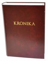 Kronika A4 400 listů - červená - Resko