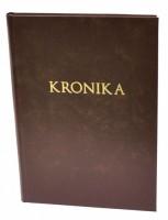 Kronika A4 100 listů - hnědá - Resko