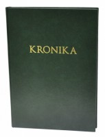 Kronika A4 100 listů - zelená - Resko