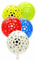 Balónek nafukovací - potisk - Fotbalový míč  A70
