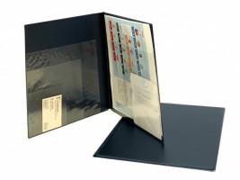 Sloha A4 vícenásobné kapsy modrá 5-405M