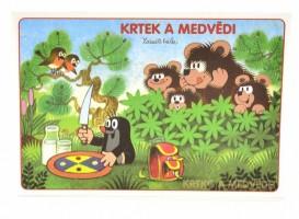 Omalovánky A5 - Krtek a medvědi - Akim
