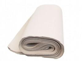 Balící papír bílý 90 x 125 cm