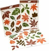 Okenní fólie  - Barevné podzimní listy - 889