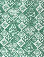 Vánoční papír - Zelená jedle č.11 - Lika - 150 ks