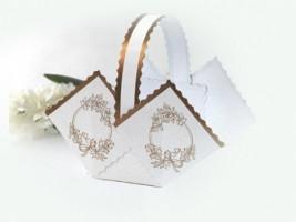 Svatební košíček Lika