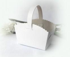Svatební košíček  bez potisku