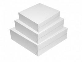 Dortová krabice -  250 x 250 x 100 mm