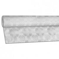 Papírový ubrus rolovaný 10 x 1,20 m bílý