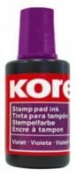 Razítková barva Kores fialová 27 ml