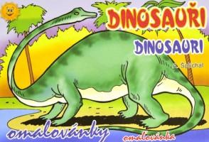 Omalovánky A5 - Dinosauři - 0119