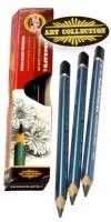 Tužka grafitová kreslířská 6B 3HR  KOH-I-NOOR 183106B001KS