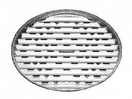 Tác na gril kulatý ALU O 34 cm [3 ks]