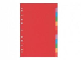 Rozdružovač barevný A4 2 x 6 listů