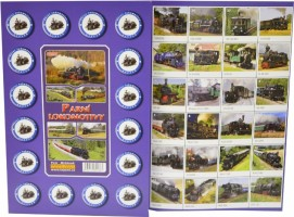 Pexeso - Parní lokomotivy
