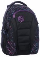 Studentský batoh Bag 0115 C Black/Violet