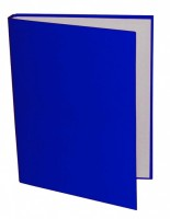 Pořadač A5 4 kroužky 40/30 mm - modrá