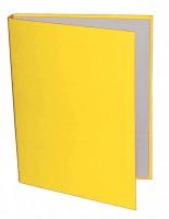 Pořadač A5 4 kroužky 40/30 mm - žlutá