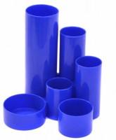 Plastový stojánek - 6-dílný - kulatý - modrý - A2530