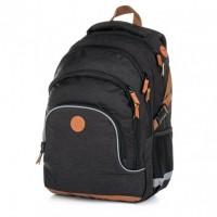 Školní batoh - Oxy Scooler Black - Karton P + P - 8-02219