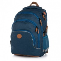 Školní batoh - Oxy Scooler Blue - Karton P + P - 8-02319
