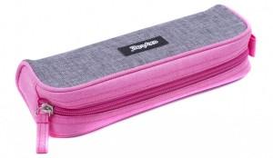 Etue Oxybag - velká - šedo-růžová - svítivá - Karton P+P - 7-835