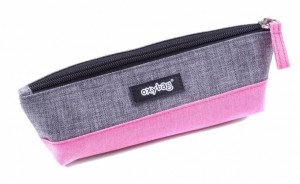 Etue Oxybag - lodička - šedo-růžová - svítivá - Karton P+P - 7-839