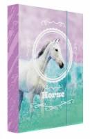 Heft box A4 - Jumbo - Karton P + P - Kůň Romantic - 5-71019