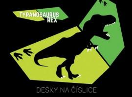 Desky na číslice -T-Rex - Karton P+P - 3-97619