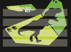 Podložka na sestavování slov - T-Rex - Karton P+P - 3-91519