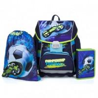 Školní 3 dílný set - Karton P+P - Premium Fotbal - 0-21119