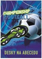 Desky na abecedu - Fotbal - Karton P+P - 3-95019