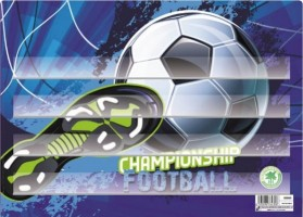 Podložka na sestavování slov - Fotbal - Karton P+P - 3-91319