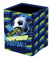 Kelímek na tužky Karton P+P - Fotbal  8-01019