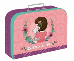 Kufřík lamino 34 cm - Karton P+P - Lilly - 5-66119