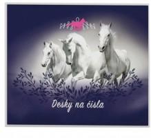 Desky na číslice - Kůň - Karton P+P - 3-97519