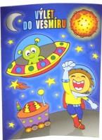 Omalovánky A5 - Výlet do vesmíru - B0420