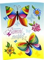 Omalovánky A5 - Barevní motýlci - B0417